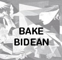 Bake bidean